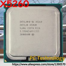 Original Socket 771 Intel Xeon X5260 Processor 3.33GHz /1333MHz / 6MB LGA771 CPU free shipping ship out within 1 day(China)