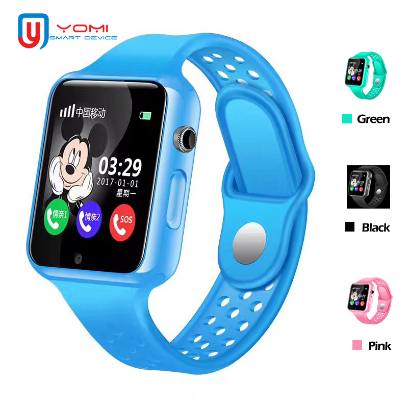 Kids Smartwatch G98 Waterproof Android IOS GPS AGPS LBS Tracker SOS Call Voice Chat Facebook Smart Watch for Child Baby рюкзак g98