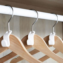 Closet Hanger Wonder Space Saver Magic Extension Hook Clothing Rack 6pcs Dropshipping Apr14(China)
