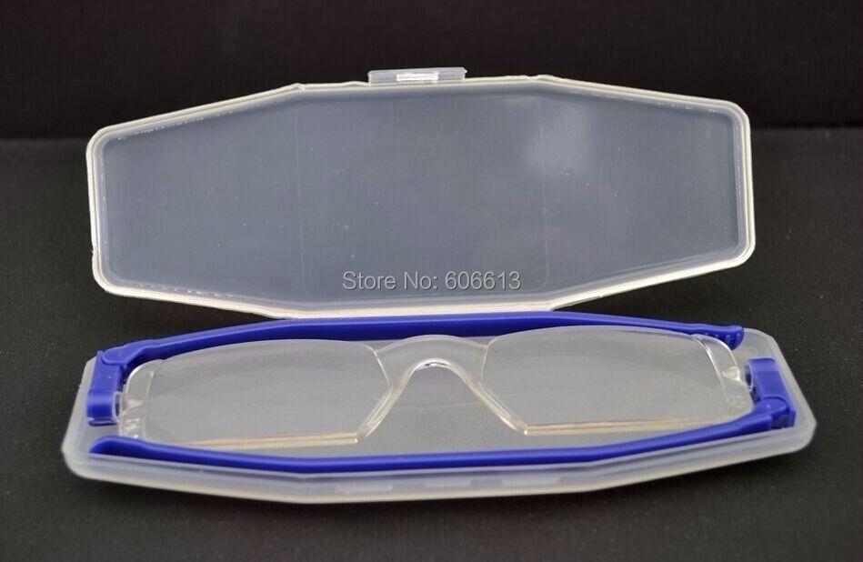 Фирменный дизайн 360 Вращающийся складной портативный очки для чтения для мужчин и женщин компактные тонкие гибкие, для чтения с коробкой Leesbril L3