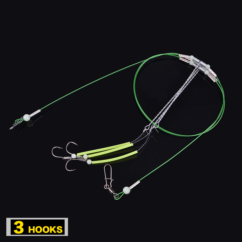 FISH KING  1 PC String Hook High Quality Pesca Acesorios Capture off Ability Fishing Hook Explosion Hook Fishing Lure Tackle