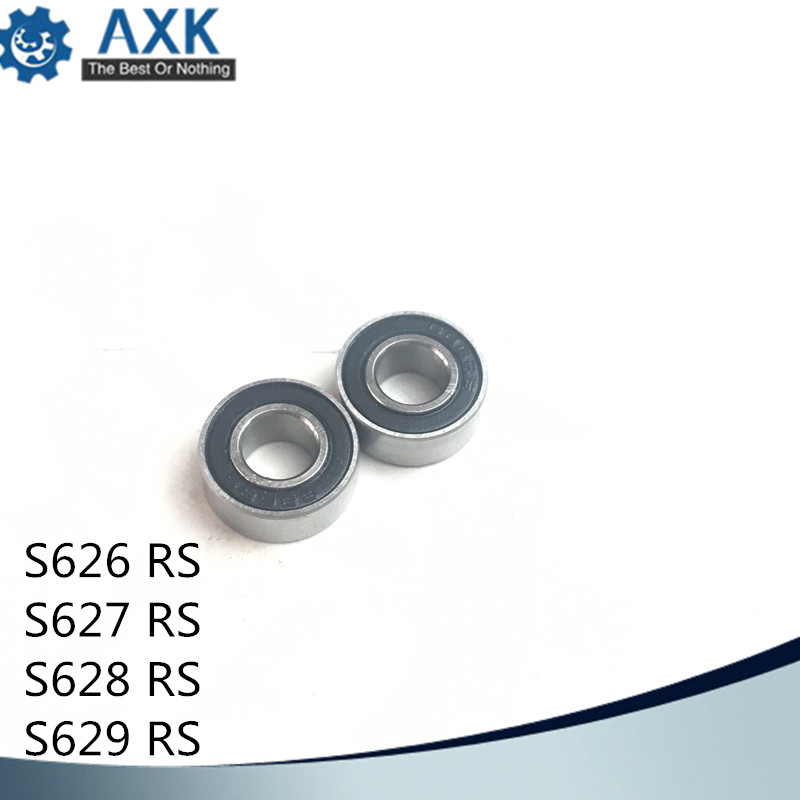 Bearings 627 628 629 626 ( 1 PC) 440C Stainless Steel Rings With Si3N4 Ceramic Balls Bearing S627 S628 S629 S626Bearings 627 628 629 626 ( 1 PC) 440C Stainless Steel Rings With Si3N4 Ceramic Balls Bearing S627 S628 S629 S626