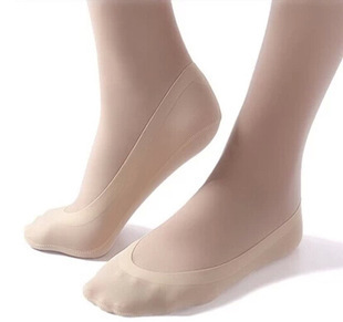 Free Shipping 10pcs=5 Pairs/lot  Bamboo Fiber Women's  Invisible Socks, Anti- Slip High Quality Summer Slipper Woman Lady Sox