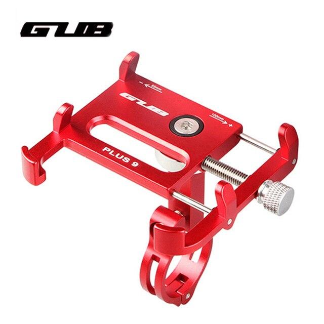 """GUB Plus 9 Bike Fahrrad Griff Telefon Halterung Unterstützung Fall Motorrad Lenker Für 3,5 6.2 """"Handy 360 grad rotation"""