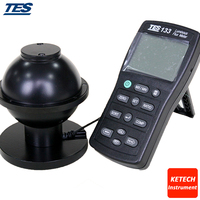 Tes133 led  소형 램프  섬유 조명 장치 라이트 미터 광속 측정기