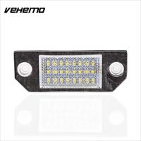 2pcs 18 LED 12V Car Auto Vehicles License Plate Lights For Ford Focus C MAX