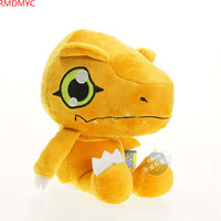 New Anime Digimon Plush Toys Cute 10 18cm Cartoon Digimon Solf Stuffed Toys For Children Women