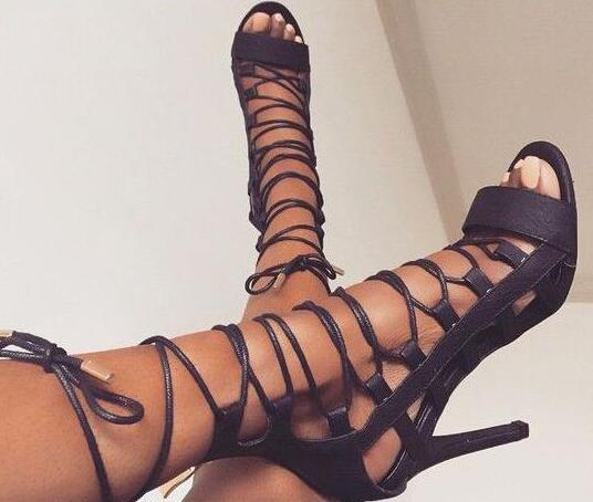 Soirée Lacent Chaussures Sandales Picture Robe 2017 Sexy Ouvert Picture Femmes Talons Femme Bout De Mesdames Gladiateur Détouré as As Mode Nouvelles WZ1aq14
