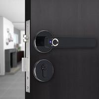 Simple design Intelligent semiconductor Fingerprint Lock Electronic biometric fingerprint Door Lock for indoor home use