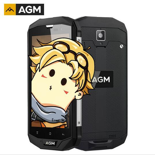 AGM A8 American version Dustproof IP68 Waterproof Mobile Phone 5 0 3GB RAM 32GB ROM 13