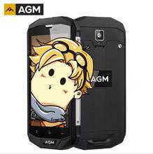 """AGM A8 Американская версия пыле IP68 Водонепроницаемый мобильный телефон 5.0 """"3 ГБ Оперативная память 32 ГБ Встроенная память 13.0MP 4050 мАч Android 7.0 мобильный телефон"""