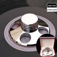 Deluxe High Quality Copper Material LP Vinyl Turntables Metal Disc Stabilizer Record Weight Clamp With High