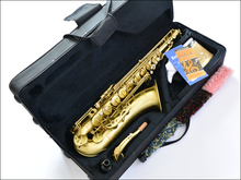 Tenor Saxophone Deluxe professional sax bB tenor Bronze sax superior vintage saxophone  musical instruments Xmas Free Shipping