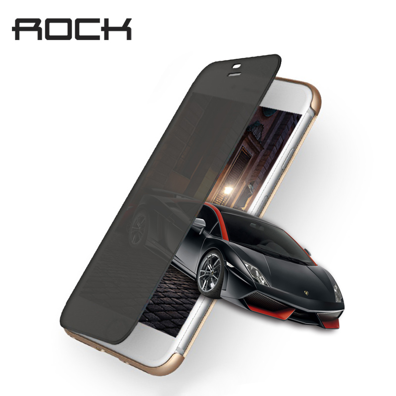 Rock Original Flip fall für iPhone 7 Fall Dr. V Serie Smart Transparent Window View Fall für iphone7 Plus Capa