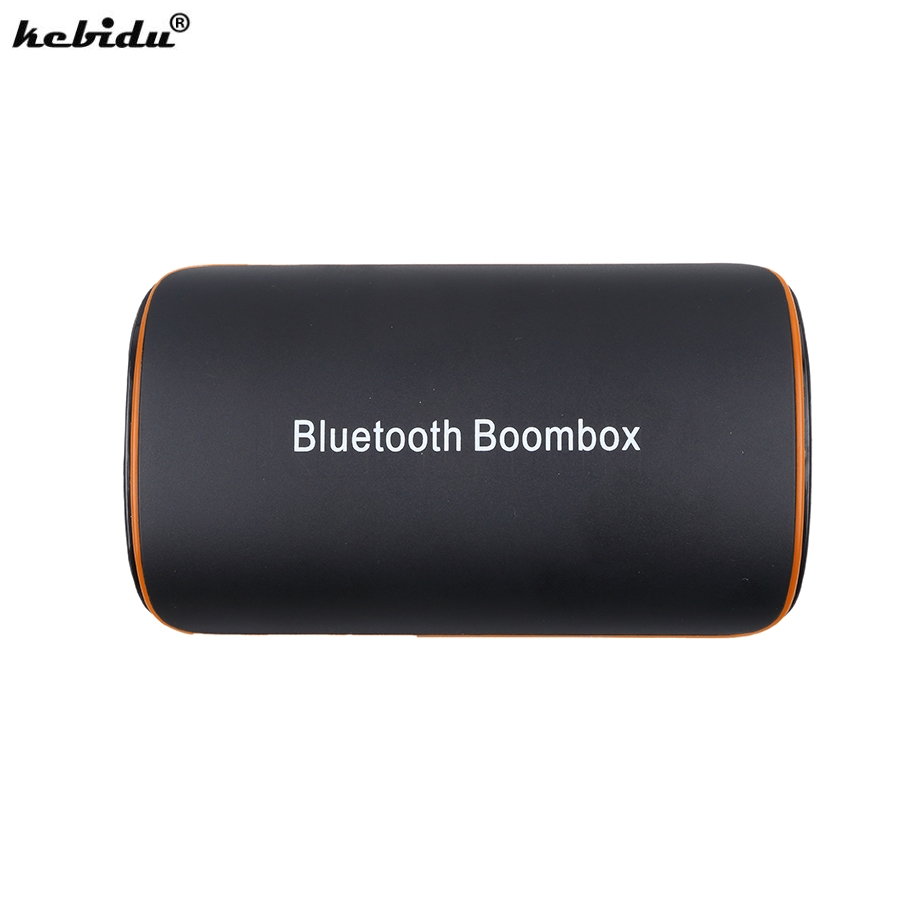 Kebidu Wireless 3d Home Stereo Bt4.1 Receiver Hifi Usb Bluetooth Boombox 3.5mm Audio Stereo Adapter For Android Ios Moblie Phone