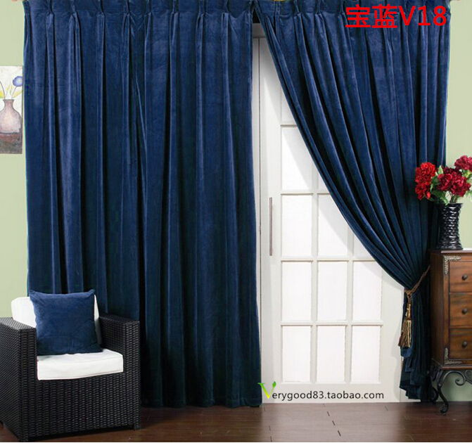 Thick Velvet Curtains - Curtains Design Gallery