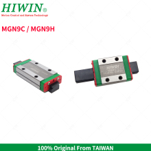 Free Shipping HIWIN MG Series Mini MGN9C Standard Block MGN9H Long 9mm Carriages for Hiwin MGNR9C Linear Guideway Rail