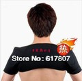 Hot-Free Shipping 1Piece Far-infrared spontaneous heat shoulder belt Tourmaline self heating shoulder pad/support