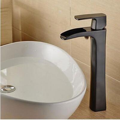 Messing Material Modernes Design Orb Fertig Badezimmer Wasserfall