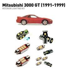 цены Led interior lights For mitsubishi 3000gt 1991-1999  10pc Led Lights For Cars lighting kit automotive bulbs Canbus
