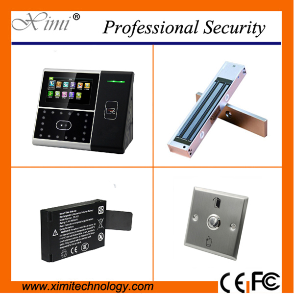 ZK good quality 1200 face users rfid card reader door controller touch screen with high infrared camera face access control kit good quality metal case face waterproof rfid card access controller with keypad 2000 users door access control reader