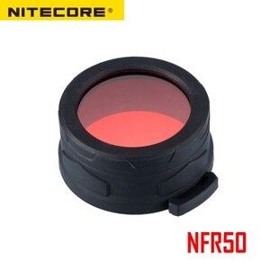Image 1 - Nitecore NFR50 NFG50多色懐中電灯フィルター50ミリメートルのための適切なトーチヘッドの50ミリメートル