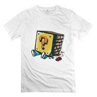 Popular Organic Cotton Mario Loose Brick Men T Shirt Customized Man S Tees Shirt
