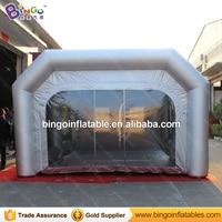 8x4.7x3 metros cabine de pulverizador de pintura inflável/cabine de pintura automática/cabine de pintura china-tendas de brinquedo