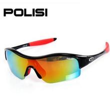POLISI polarization Kids Bike Cycling Anti UV400 Boys Girls Outdoor Sports Ski Snow Glasses Eyewear