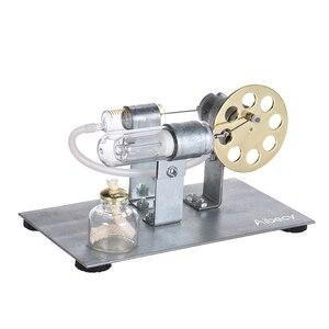 Image 4 - Aibecy Mini silnik stirlinga na gorące powietrze Model silnika strumień mocy eksperyment fizyczny zabawka edukacyjna