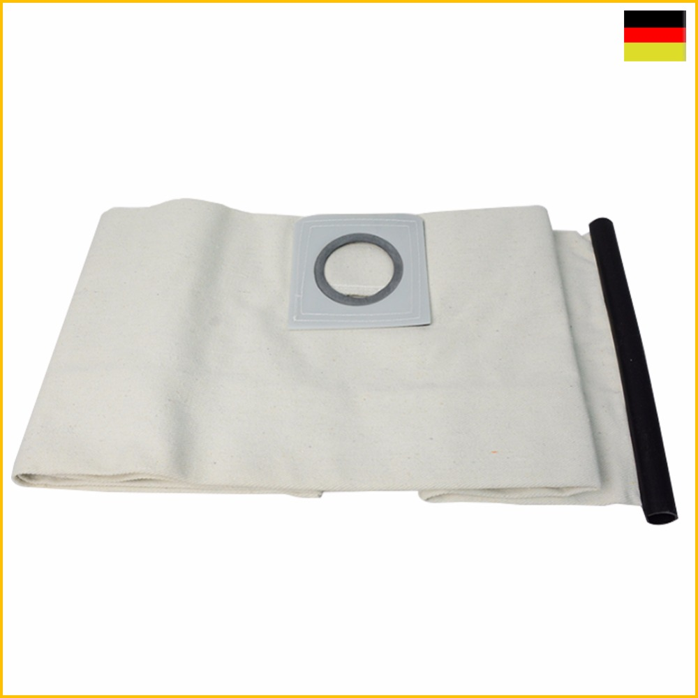 1PCS Cloth DUST Filter BAGS For KARCHER VACUUM CLEANER WD3200 WD3300 WD Fit A2204/A2656/WD3.200/SE4001/MV1/MV3 High quality New