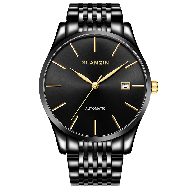GUANQIN GJ16056 watches men luxury brand relogio masculino Watches Men Business Waterproof Automatic Mechanical Watch unique smooth case pocket watch mechanical automatic watches with pendant chain necklace men women gift relogio de bolso