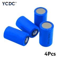 CR2 Li-Po батареи 3V 800 мАч литий-полимерный аккумулятор Батарея CR15H270 CR15266 музыкальная шкатулка для плюшевых игрушек фонарик дымовой пожарной сигнализации
