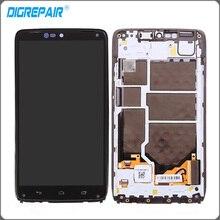 "5.2 ""pulgadas Negro Para Motorola Moto Droid Turbo XT1254 XT1225 LCD Pantalla Táctil con Digitalizador + Marco Del Bisel reemplazos"
