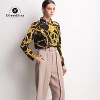 EE Women Fashion Shirt For Women Clothing 2016 Luxury Women T Shirt Long Sleeve Black Mixed