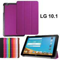XSKEMP Rotation 360 Degree Rotating Stand Leather Cover Case For LG G PAD X 10 1