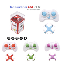 цены на Mini RC Drone Cheerson CX-10 CX10 Mini Drone 2.4G 4CH 6 Axis LED RC Quadcopter Toy Helicopter with LED light Toys for Children  в интернет-магазинах