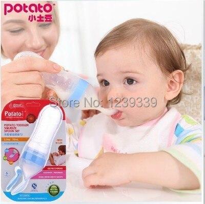 Soft Silicone Baby Feeding Syringe Bottle Rice Cereal