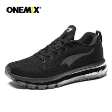ONEMIX 2019 Men Running Shoes Light Women Sneakers Soft Breathable Mesh Deodorant Insole Outdoor Athletic Walking Jogging Shoes