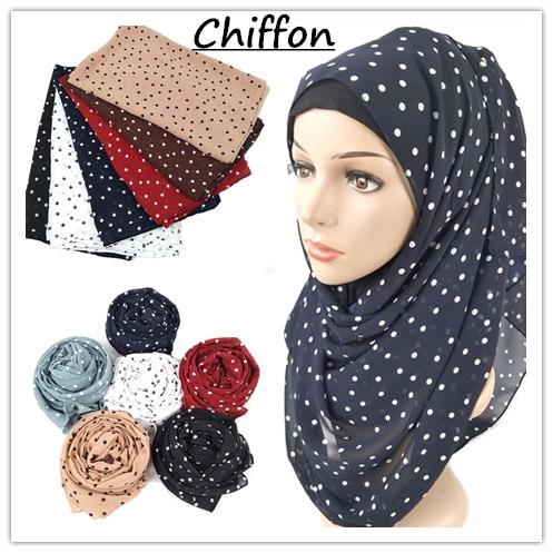 S12 10pcs High Quality Flower Printed  Pearl Bubble Chiffon Hijab Scarf Shawl Muslim Head Wrap Headband Solid  Heavy Fabric