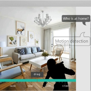 Image 4 - Wdskivi Mini caméra de surveillance intérieure IP WiFi Cloud hd 1080P, dispositif de sécurité sans fil, babyphone vidéo sans fil, avec reconnaissance faciale