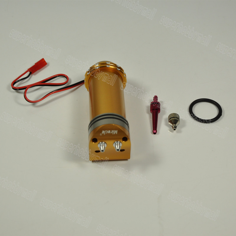 Miracle Aluminum CNC Anonized Electric Fuel Pump Version II 7.2-12V
