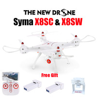 Newest SYMA X8SW RC Drone 2.4G 4CH 6 Axis Quadcopter With FPV Wifi Camera or Syma X8SC With 2.0MP HD Camera Rc Helicopter Drone