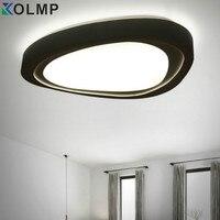 Nuove Plafoniere a LED telecomando 110/220 V HA CONDOTTO LA Lampada Moderna Lampada Led bianco caldo Luce Dell'interno Per Soggiorno camera da letto