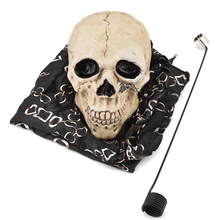 Zombie Floating Skull Magic Tricks Amazing Stage Magia Skull Floating Fly Magie Illusion Gimmick Props Tour De Magie Magica top quality deluxe round floating table profit table anti gravity box with flower pot magic tricks stage gimmick illusion