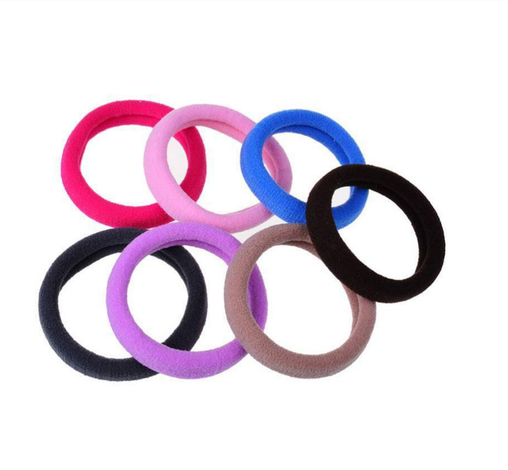 us $0.22 |1pcs candy color hair holder high quality rubber band elastic  hair bands girl tie gum for hair accessories women-in women's hair  accessories