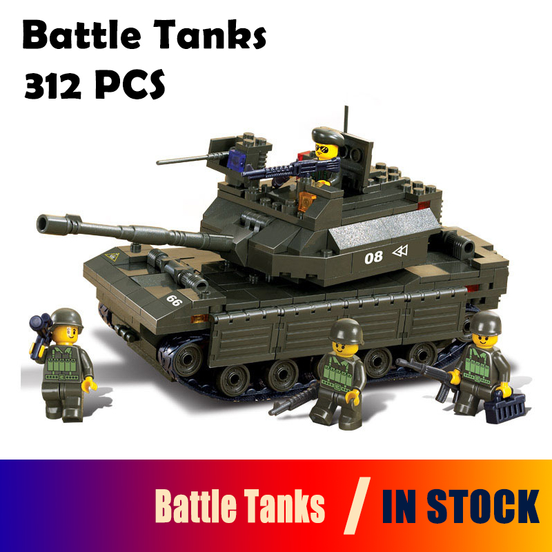 6500 Model building kits compatible with lego city tank battle tanks blocks Educational building toys hobbies for children tamiya model tank rising u s m60a1 battle tanks with reactive armor tanks 35157