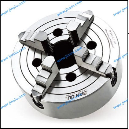 4 Jaws K72-320 Independent Front Mount Lathe Chuck