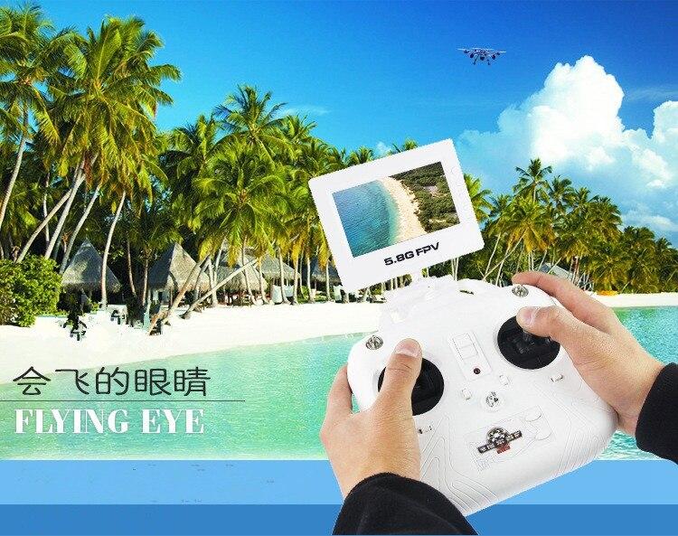 FPV RC Quadcopter drone HJ817 pode Com Câmera HD 5.8g transferência de Real-Time Display 2.4g 4.5CH 6 axis GYRO VS QR Y100 U818S