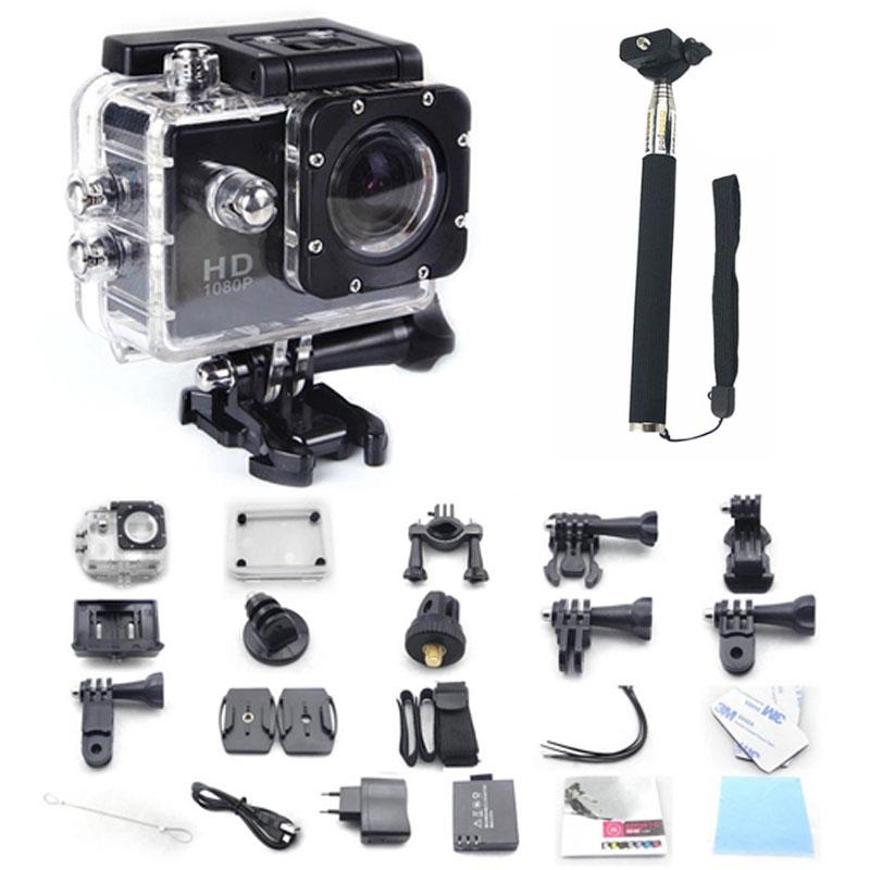 Prix pour Gopro hero 3 style sj4000 go pro caméra 30 m étanche 1080 p full hd dvr sport action appareil photo numérique